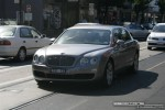 Pur   Exotic Spotting in Melbourne: Bentley Continental Flying Spur - front right (Chapel St, South Yarra, Vic, 22 March 08)