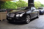 Feb   Exotic Spotting in Melbourne: Bentley Continental GTC - front right (Crown Casino, Vic, 9 Feb 09)