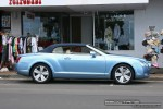 TI   Exotics on Victoria's Surf Coast: Bentley Continental GTC - profile right (Lorne, Vic, 24 Jan 08)