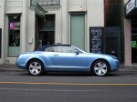 On   Exotic Spotting in Melbourne: Bentley Continental GTC