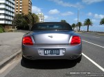 Exotic Spotting in Melbourne: Bentley Continental GTC