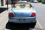 Exotic Spotting in Melbourne: Bentley Continental GTC - rear (Sorrento, Vic, 18 Jan 09)