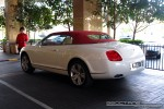 Exotic Spotting in Melbourne: Bentley Continental GTC - rear left (Crown Casino, Victoria, 26 Sept 08)