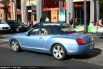 Left   Exotic Spotting in Melbourne: Bentley Continental GTC - rear left (Sth Yarra, Vic, 25 Oct 09)