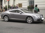 Exotic Spotting in Europe: Bentley Continental GT (Mayfair, London, 12 April 2006)