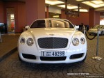 On   Exotics in Dubai: Bentley Continental GT - A front (white)