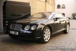 Black   Exotics in Dubai: Bentley Continental GT - B front left (black)
