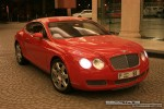 Right   Exotics in Dubai: Bentley Continental GT - D front right (red)