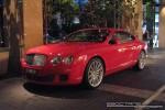 Victoria   Exotic Spotting in Melbourne: Bentley Continental GT Speed - front left (Crown Casino, Victoria, 27 Mar 09)
