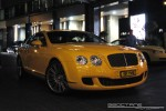 Exotic Spotting in Melbourne: Bentley Continental GT Speed - front right (Crown Casino, Victoria, 27 Mar 09)