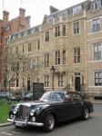 Sports   Exotic Spotting in Europe: Bentley S1 H J  Mulliner 4 Door Sports Saloon - front left (Westminster Abbey, London , 13 April 2006)