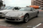 98octane Photos Exotics in Dubai: Chevrolet Corvette C5 - A front left (silver)