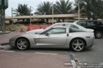 Silver   Exotics in Dubai: Chevrolet Corvette C5 - A profile left (silver)