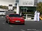 Right   Exotics in Dubai: Chevrolet Corvette C5 - C front right (red)