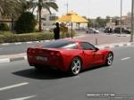 Right   Exotics in Dubai: Chevrolet Corvette C5 - C rear right (red)