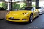 2008   Exotic Spotting in Melbourne: Chevrolet Corvette C6 - front left 1 (Crown Casinio, Vic, 22 Oct 2008)