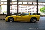 Left   Exotic Spotting in Melbourne: Chevrolet Corvette C6 - profile left 2 (Crown Casinio, Vic, 22 Oct 2008)