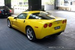 Left   Exotic Spotting in Melbourne: Chevrolet Corvette C6 - rear left 2 (Crown Casinio, Vic, 22 Oct 2008)