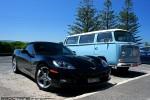 Convert   Exotics on Victoria's Surf Coast: Chevrolet Corvette Convertible C6 - front right 1 (Lorne, Vic 7 Feb 2010)