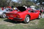Right   Melbourne Ferrari Concours 20 April 2008: Ferrari 246 Dino [DINO-28] - rear right (Ferrari Concours, Como Oval North, Toorak, 20 April 08)
