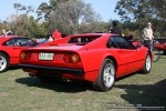 Melbourne Ferrari Concours 20 April 2008: Ferrari 308 GTB [QFV-308] - rear right (Ferrari Concours, Como Oval North, Toorak, 20 April 08)
