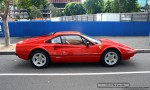Exotic Spotting in Melbourne: Ferrari 308 GTB - profile right (Docklands, Vic, 19 April 08)