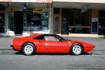 308   Exotic Spotting in Melbourne: Ferrari 308 GTS - profile right (Middle Park, Vic, 9 Mar 09)