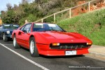 Right   Ferraris and Aston Martins in Mornington: Ferrari 308 QV - front right 1 (Mornington, Victoria, 14 Jun 09)