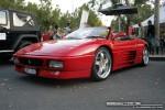 Car   Exotic Spotting in Melbourne: Ferrari 348 Spider [UKF-618] - front left 1 (Lygon St, Carlton, Vic, 16 March 08)
