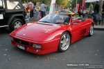 Exotic Spotting in Melbourne: Ferrari 348 Spider [UKF-618] - front left 2 (Lygon St, Carlton, Vic, 16 March 08)