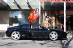 Car   Exotic Spotting in Melbourne: Ferrari 348 Spider - profile right (Carlton, Vic, 29 Mar 09)