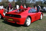 4D   Melbourne Ferrari Concours 20 April 2008: Ferrari 348 TB [AB704DL] - rear right (Ferrari Concours, Como Oval North, Toorak, 20 April 08)