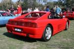348   Melbourne Ferrari Concours 20 April 2008: Ferrari 348 TS [SJA-779] - rear right (Ferrari Concours, Como Oval North, Toorak, 20 April 08)