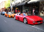 Ferrari _348 Australia Exotic Spotting in Melbourne: Ferrari 348 TS and two Lamborghini Murcielagos