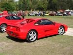 Right   Melbourne Ferrari Concours 1 April 2007: Ferrari 355 Berlinetta - red rear right
