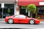 Exotic Spotting in Melbourne: Ferrari 355 Challenge - profile right (Toorak, Vic, 18 Oct 09)