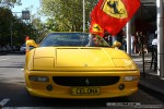 Car   Exotic Spotting in Melbourne: Ferrari 355 Spider - front (Carlton, Vic, 29 Mar 09)