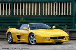 Exotic Spotting in Melbourne: Ferrari 355 Spider - front right (Buxton, Vic, 29 Aug 2010)