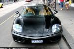98octane Photos Exotic Spotting in Melbourne: Ferrari 360 Modena - front (South Yarra, Vic, 14 Nov 09)