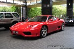 Feb   Exotic Spotting in Melbourne: Ferrari 360 Modena - front right (Crown Casino, Vic, 9 Feb 09)
