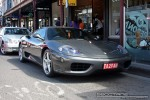 Right   Exotic Spotting in Melbourne: Ferrari 360 Modena - front right (Prahran, Vic, 28 Sept 08)
