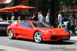 Right   Exotic Spotting in Melbourne: Ferrari 360 Modena - front right (South Yarra, Vic, 21 Jan 09)