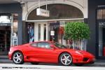 Exotic Spotting in Melbourne: Ferrari 360 Modena - front right (Toorak, Vic, 18 Apr 2010)