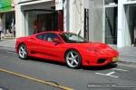 Exotic Spotting in Melbourne: Ferrari 360 Modena - front right (Toorak, Vic, 28 Sept 08)