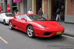 Right   Exotic Spotting in Melbourne: Ferrari 360 Modena - front right 2 (South Yarra, Vic, 2 Nov 08)