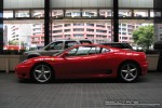 Exotic Spotting in Melbourne: Ferrari 360 Modena - profile right (Crown Casino, Vic, 9 Feb 09)