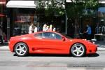 Exotic Spotting in Melbourne: Ferrari 360 Modena - profile right (South Yarra, Vic, 21 Jan 09)
