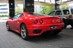 Feb   Exotic Spotting in Melbourne: Ferrari 360 Modena - rear right (Crown Casino, Vic, 9 Feb 09)