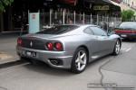 Melbourne   Exotic Spotting in Melbourne: Ferrari 360 Modena - rear right (South Melbourne, Vic, 2 Nov 08)