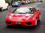 Melbourne Ferrari Concours 1 April 2007: Ferrari 360 Modena - red front
